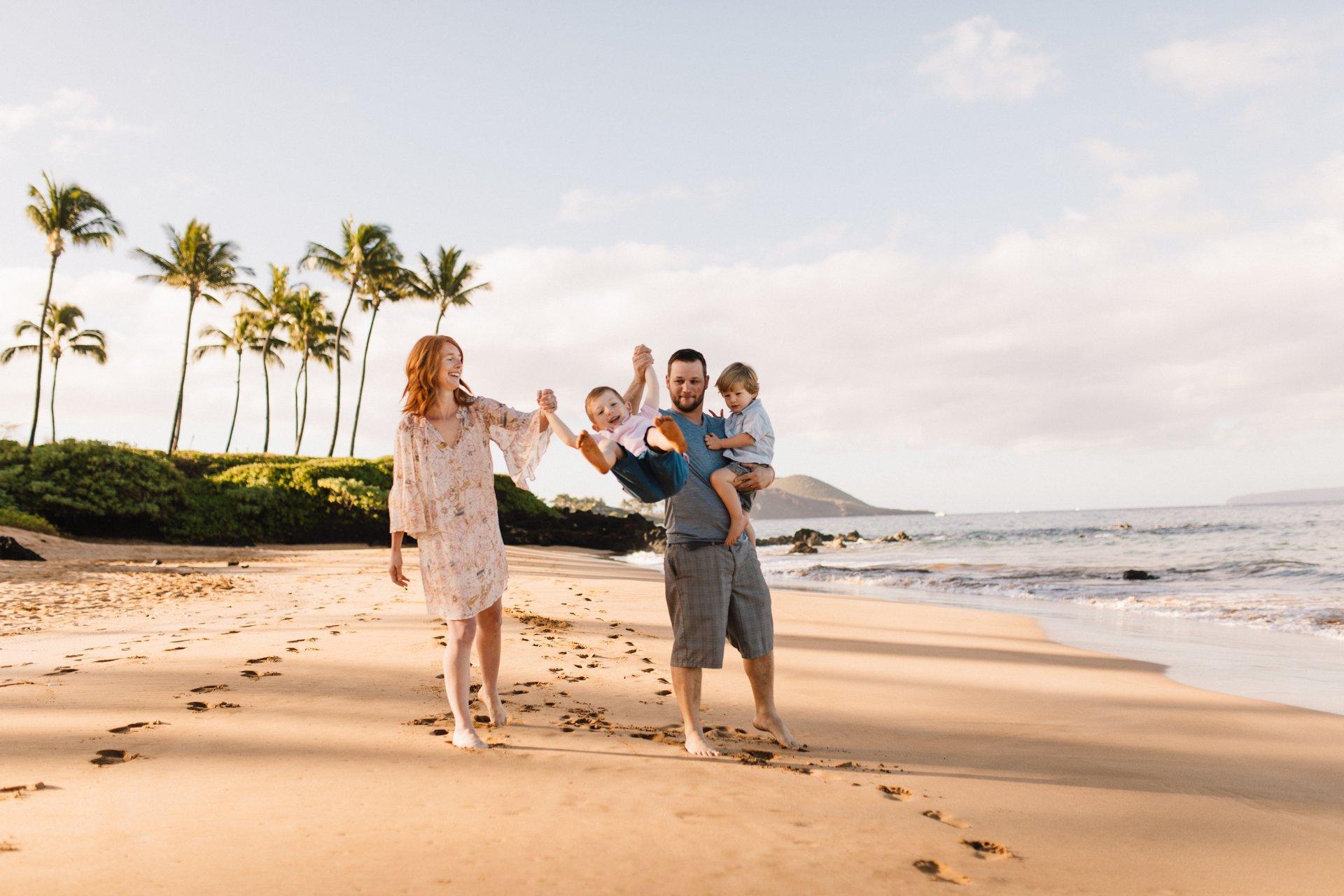 Flytographer Travel Story - Ohana Vacation in Maui