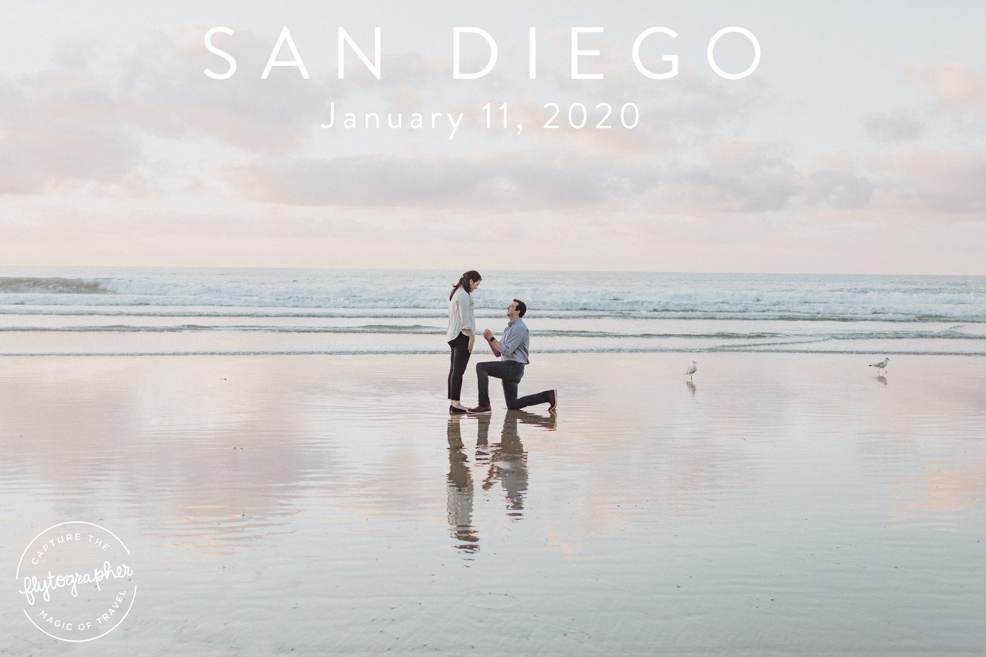 Flytographer Travel Story - Our La Jolla Proposal