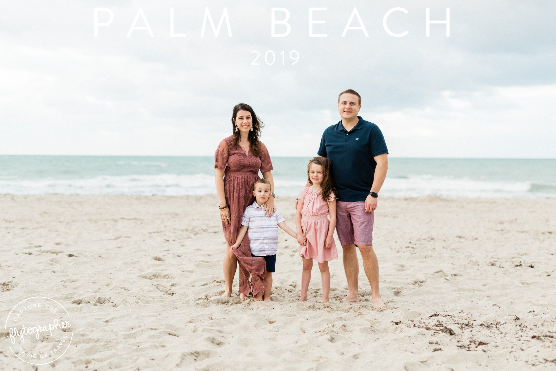 Flytographer Travel Story - Family Trip to Palm Beach
