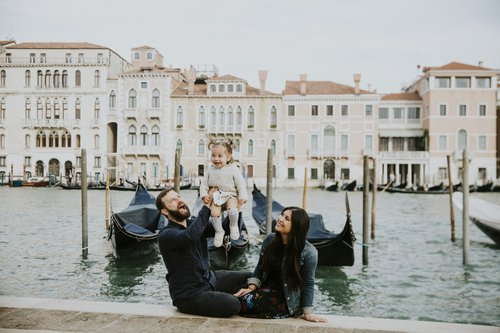 Flytographer photo shoot in Venice
