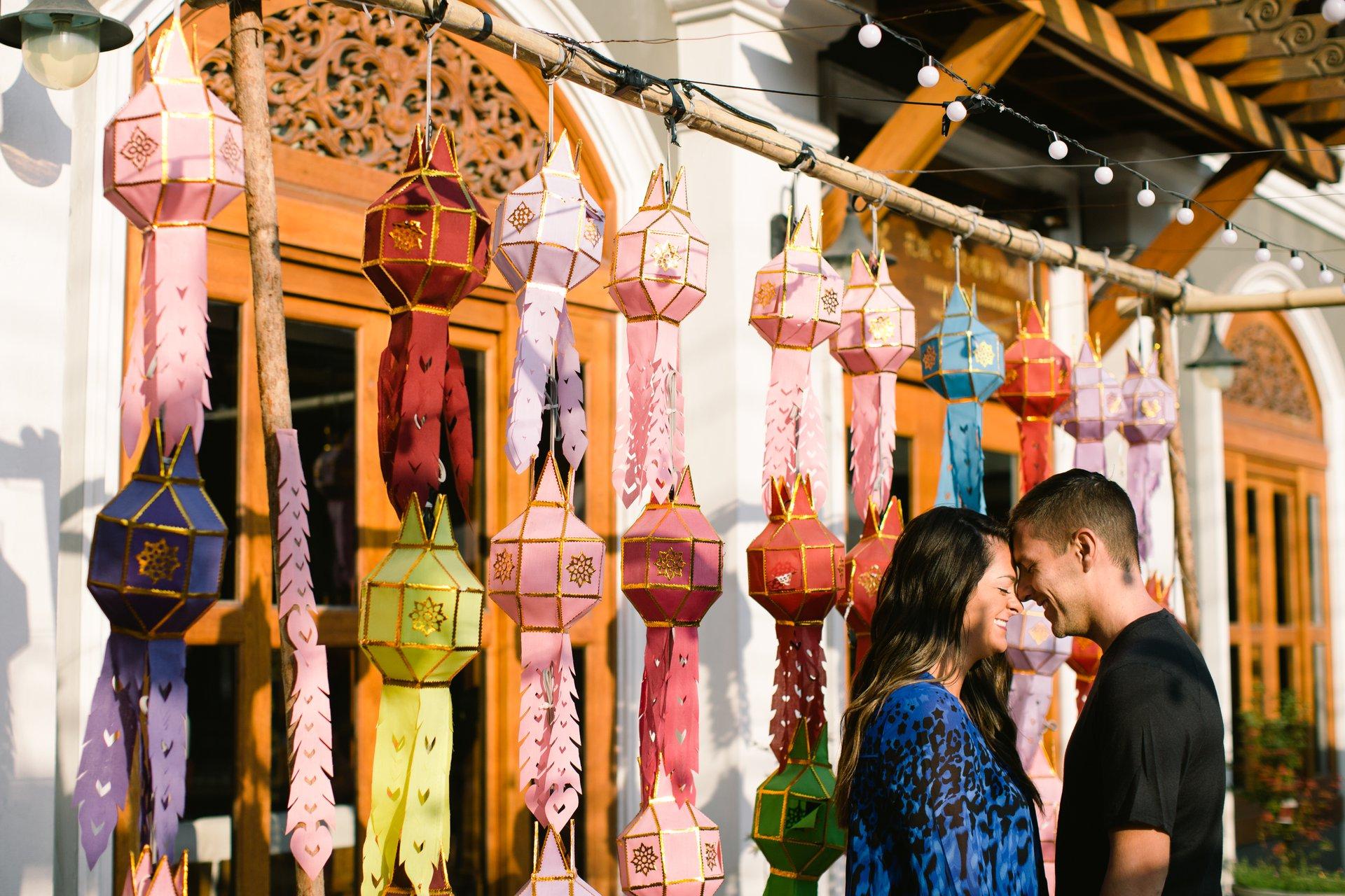 Flytographer Travel Story - New Years Lantern Festival in Thailand