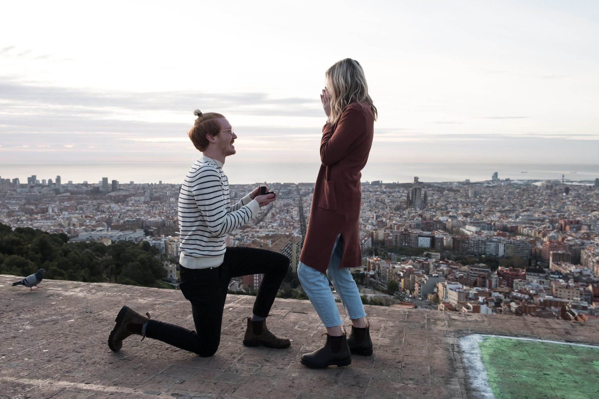 Flytographer Travel Story - Engaged in Barcelona