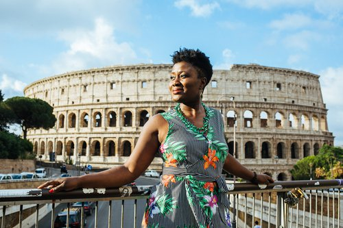 Flytographer photo shoot in Rome