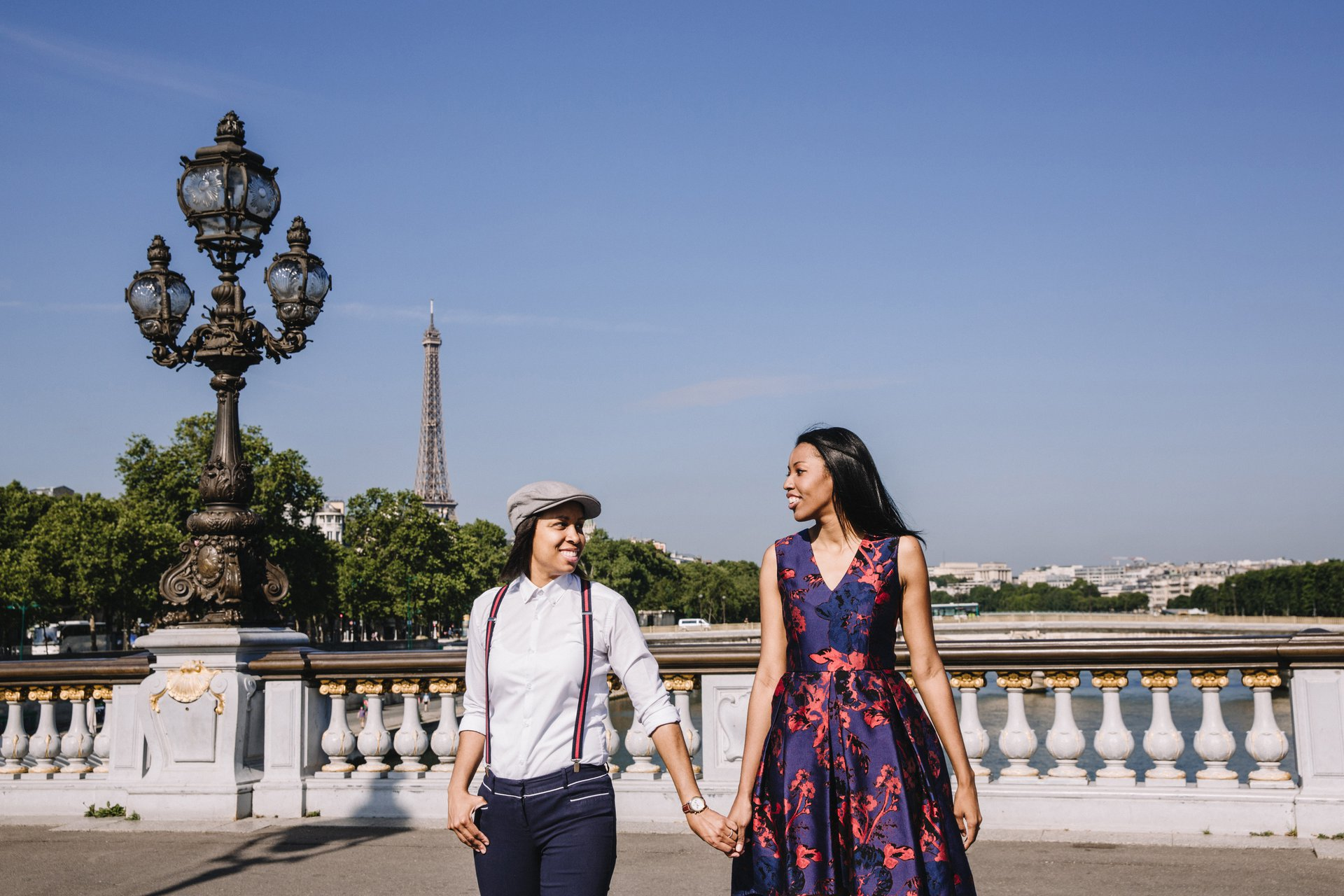 Flytographer Travel Story - Parisian Engagement Session