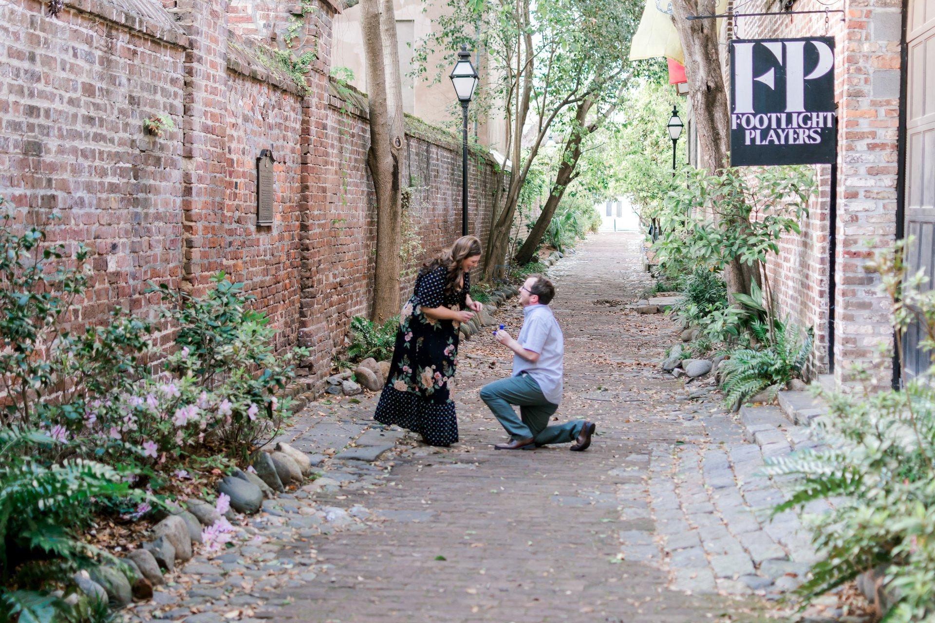 Flytographer Travel Story - Charleston Proposal