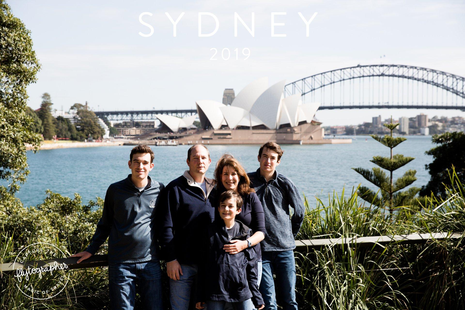 Flytographer Travel Story - Gallagher Family in Sydney, Australia 2019