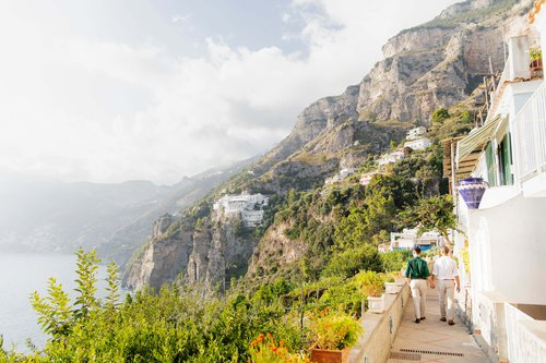 Flytographer photo shoot in Amalfi Coast
