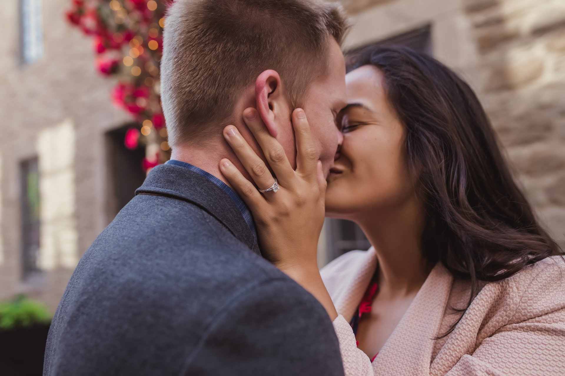 Flytographer Travel Story - Old Montreal Engagement