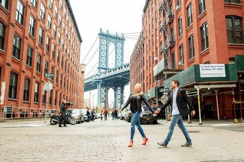 Flytographer photo shoot in New York City