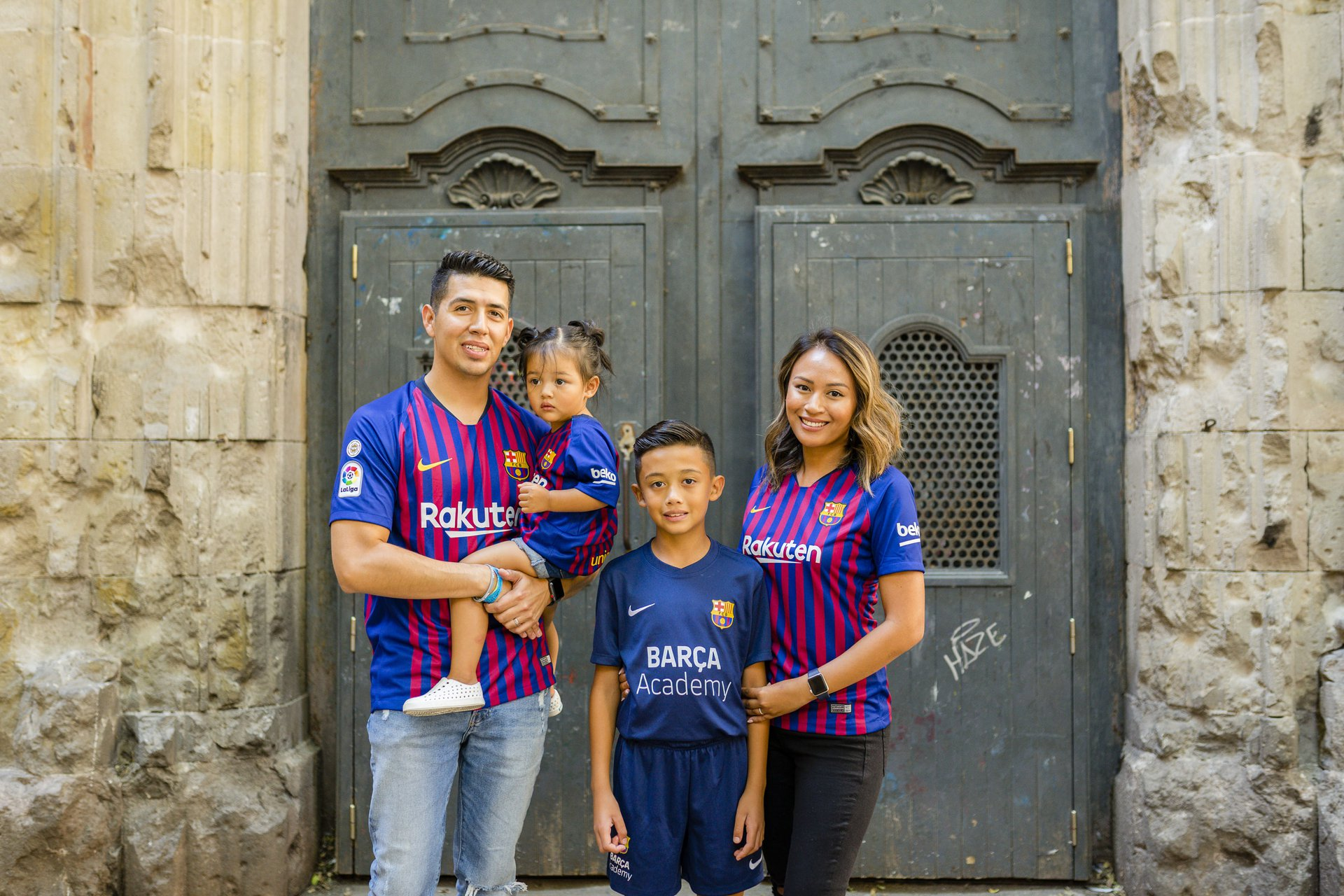 Flytographer Travel Story - Soccer Camp in Barcelona!