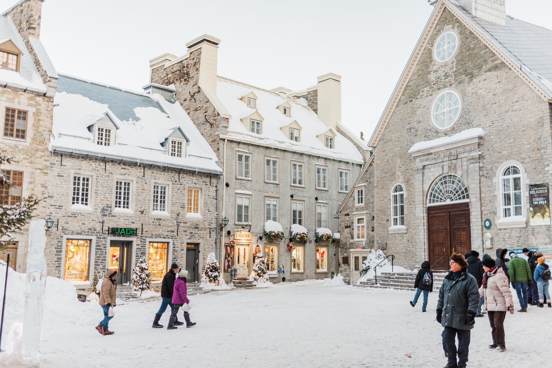 Place Royale, Quebec City | Photographer | Flytographer