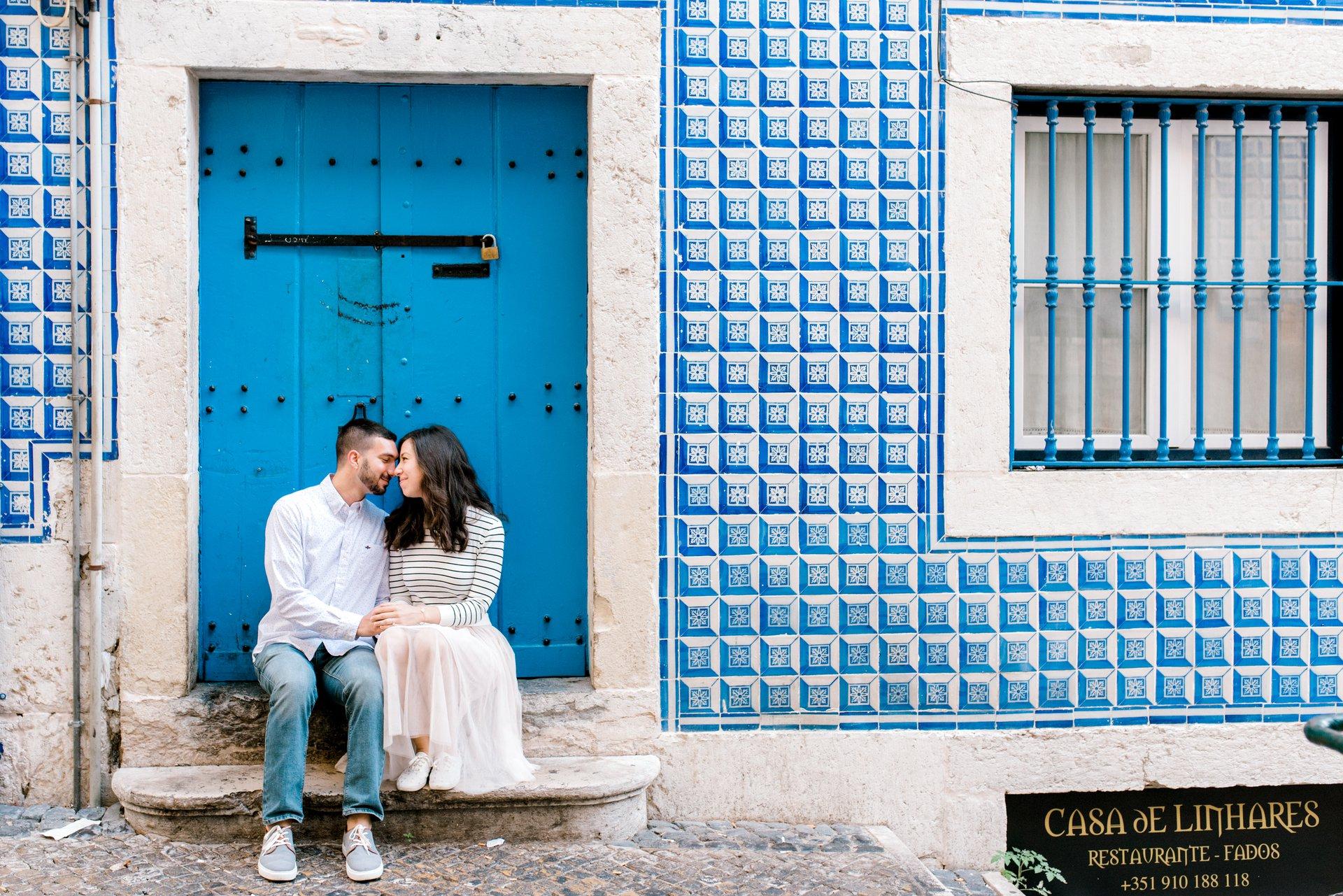 Flytographer Travel Story - Honeymoon in Lisbon!