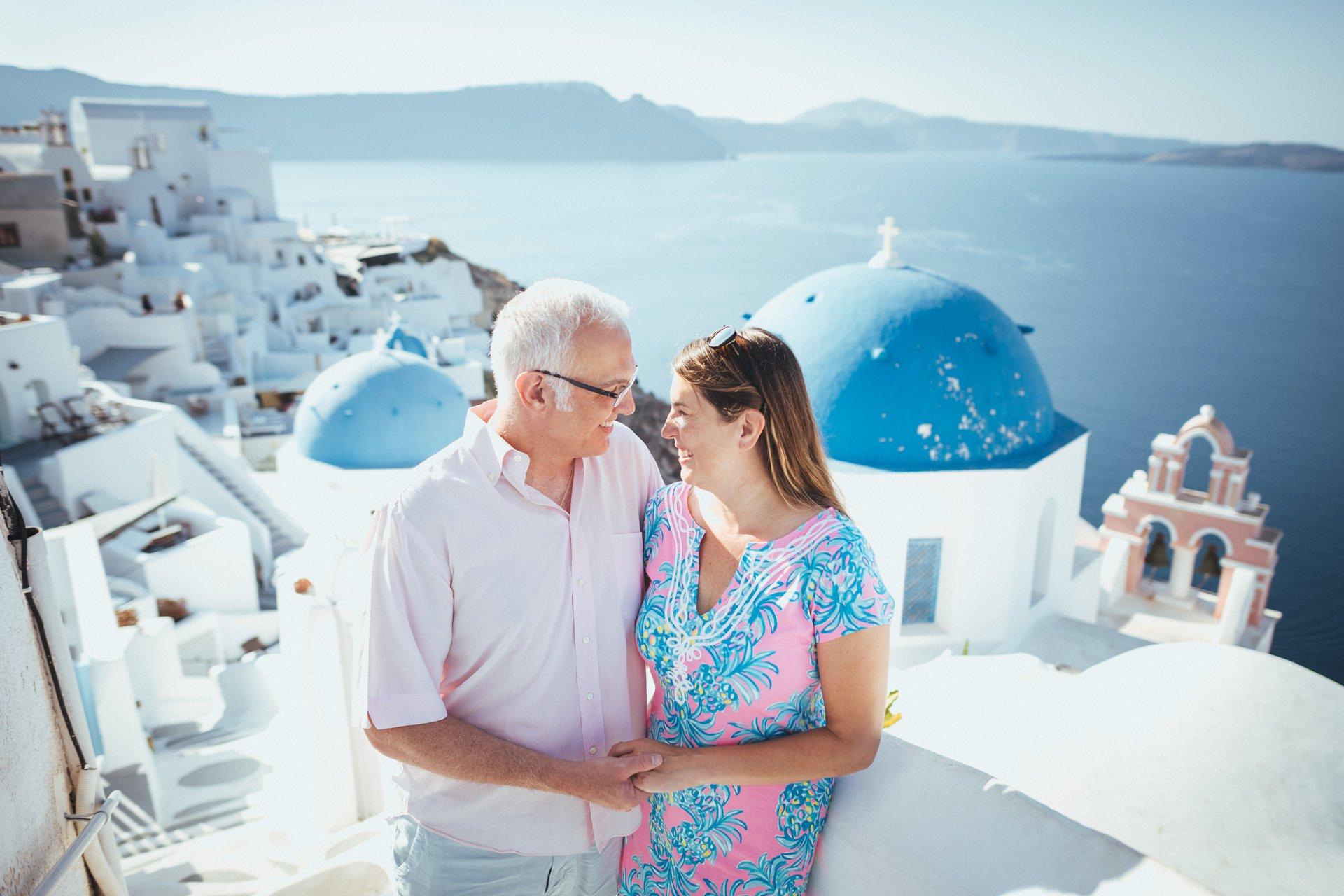 Flytographer Travel Story - Santorini Anniversary Trip