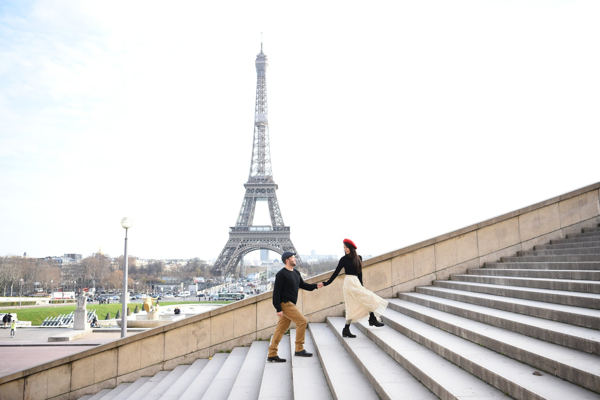 Flytographer Travel Story - Paris Two-Year Wedding Anniversary Vacation