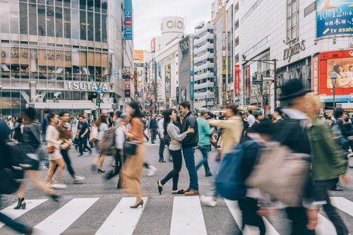 Flytographer photo shoot in Tokyo