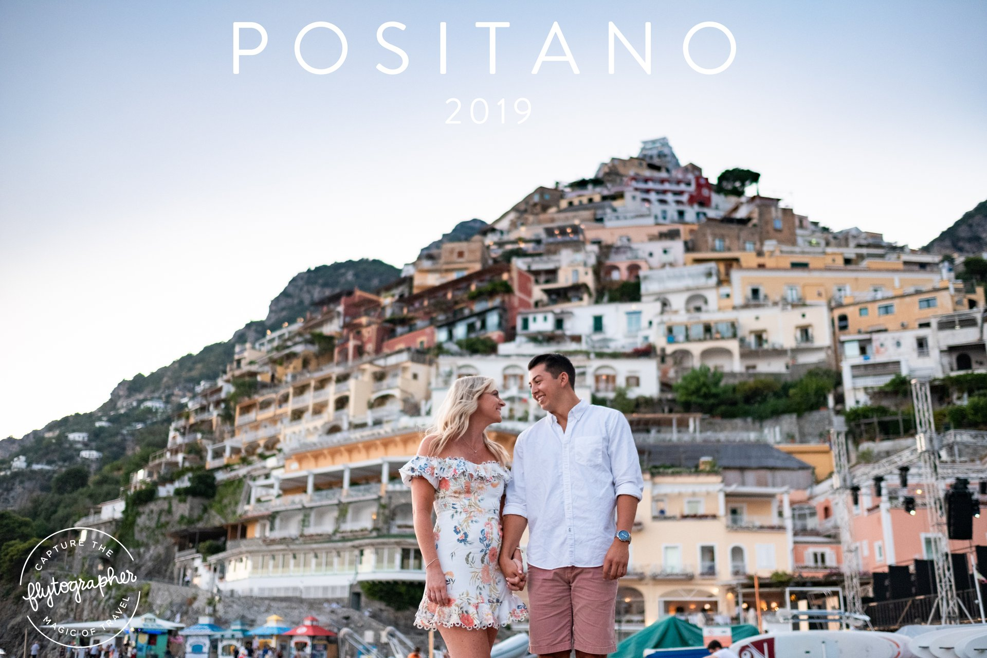 Flytographer Travel Story - Positano Engagement Session
