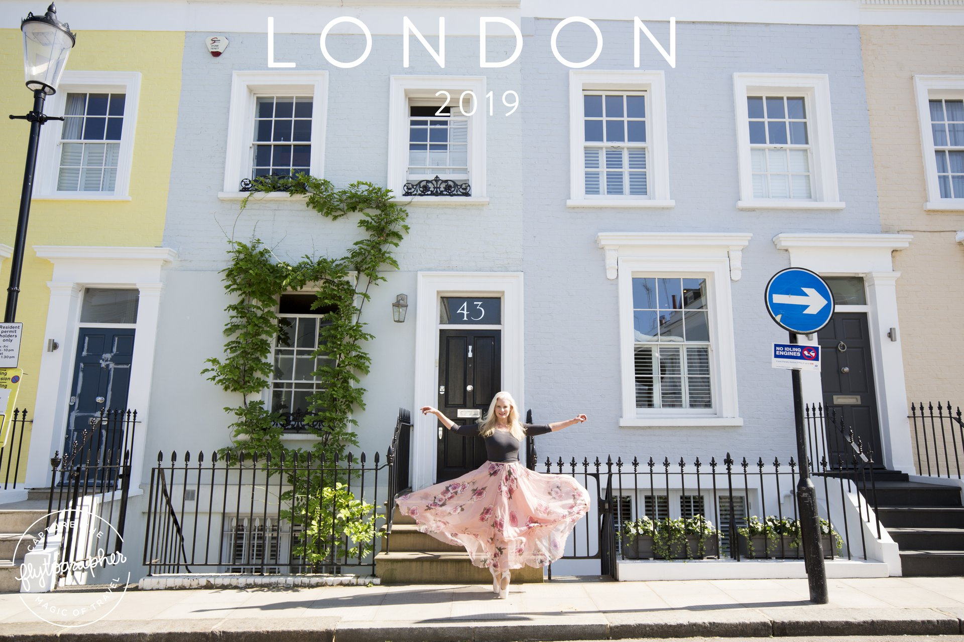 Flytographer Travel Story - Neighbourhood Ballet in Notting Hill (London)